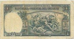 1 Peso URUGUAY  1935 P.028c TB