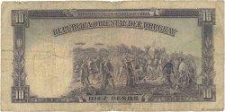 10 Pesos URUGUAY  1935 P.030a B