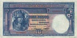 10 Pesos URUGUAY  1935 P.030a TTB