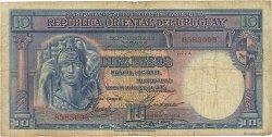 10 Pesos URUGUAY  1935 P.030b B