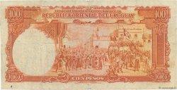 100 Pesos URUGUAY  1935 P.031a B+