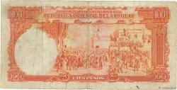 100 Pesos URUGUAY  1935 P.031a TB