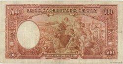 500 Pesos URUGUAY  1935 P.032a TB+
