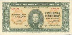 50 Centesimos URUGUAY  1939 P.034 SPL