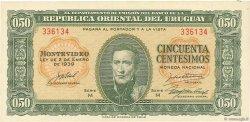 50 Centesimos URUGUAY  1939 P.034 pr.NEUF