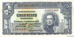 5 Pesos URUGUAY  1939 P.036b pr.NEUF