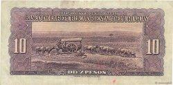10 Pesos URUGUAY  1939 P.037a TB+