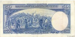 50 Pesos URUGUAY  1939 P.038b TTB+