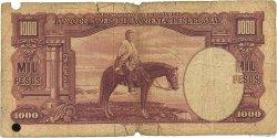 1000 Pesos URUGUAY  1939 P.041c AB