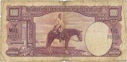 1000 Pesos URUGUAY  1939 P.041c B