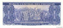 50 Pesos URUGUAY  1967 P.046a