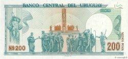 200 Nuevos Pesos URUGUAY  1986 P.066a NEUF