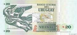 20 Pesos Uruguayos URUGUAY  2000 P.083a pr.NEUF