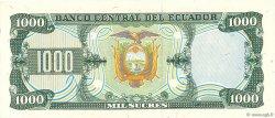 1000 Sucres ÉQUATEUR  1988 P.125b