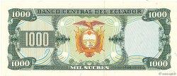 1000 Sucres ÉQUATEUR  1988 P.125b NEUF