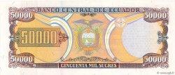 50000 Sucres ÉQUATEUR  1999 P.130b SUP+