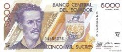 5000 Sucres ÉQUATEUR  1987 P.126a NEUF