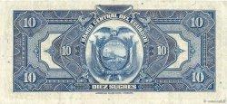 10 Sucres ÉQUATEUR  1940 P.092a TTB