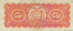 5 Sucres ÉQUATEUR  1954 P.098c TB