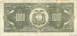 1000 Sucres ÉQUATEUR  1954 P.107a pr.TTB