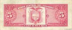 5 Sucres ÉQUATEUR  1977 P.108a TTB