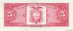 5 Sucres ÉQUATEUR  1983 P.108b pr.NEUF