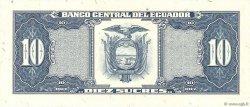10 Sucres ÉQUATEUR  1988 P.121 NEUF