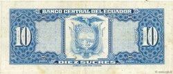 10 Sucres ÉQUATEUR  1975 P.109 TTB