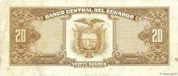 20 Sucres ÉQUATEUR  1978 P.115b TTB