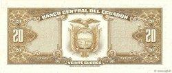 20 Sucres ÉQUATEUR  1978 P.115b NEUF