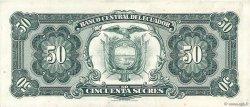 50 Sucres ÉQUATEUR  1974 P.116d TTB