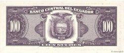 100 Sucres ÉQUATEUR  1974 P.118a pr.NEUF