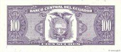 100 Sucres ÉQUATEUR  1992 P.123Ab NEUF