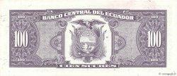 100 Sucres ÉQUATEUR  1993 P.123Ab SUP