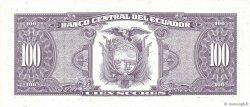 100 Sucres ÉQUATEUR  1994 P.123Ac pr.NEUF