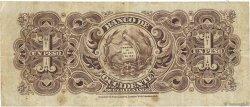 1 Peso GUATEMALA  1900 PS.175a TB+