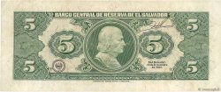 5 Colones SALVADOR  1992 P.132A SUP