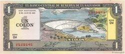 1 Colon SALVADOR  1979 P.125b SUP