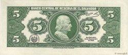 5 Colones SALVADOR  1983 P.134a TTB+