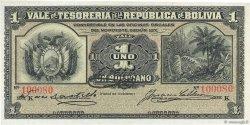 1 Boliviano BOLIVIE  1902 P.092a SPL+