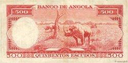 500 Escudos ANGOLA  1970 P.097 TTB