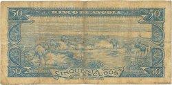 50 Escudos ANGOLA  1962 P.093 B+