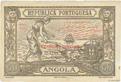 50 Centavos ANGOLA  1921 P.062 TTB