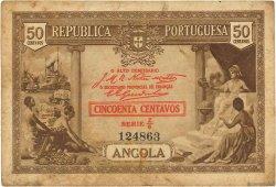 50 Centavos ANGOLA  1923 P.063 TB