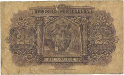 2,5 Angolares ANGOLA  1942 P.069 AB