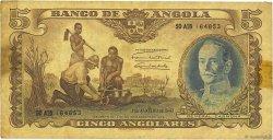 5 Angolares ANGOLA  1947 P.077 TB