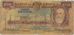 20 Escudos ANGOLA  1956 P.087 pr.B