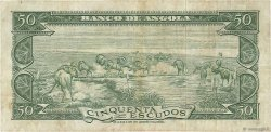 50 Escudos ANGOLA  1956 P.088a TB