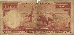 500 Escudos ANGOLA  1956 P.090 B