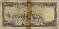 1000 Escudos ANGOLA  1956 P.091 B